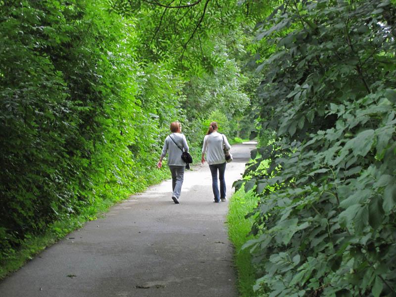 Memorial Trail into Dachau