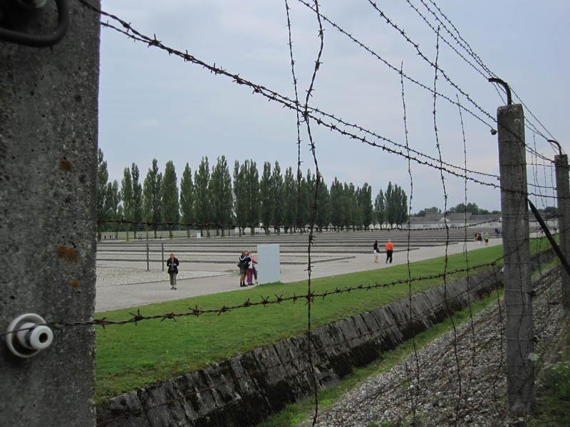 Dachau border