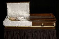 Left Eye Open Casket Pictures Of open casket funerals.